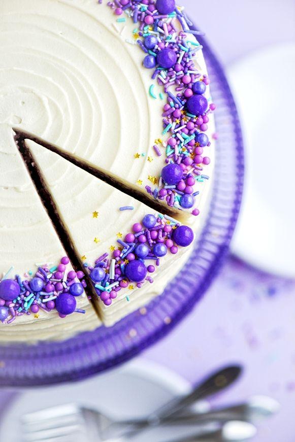 Sweetapolita – Purple Velvet Cake with Cream Cheese Frosting | Sweetapolita