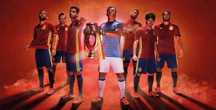 #football #kit #euro #spain #team