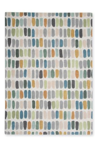 Buy Multicoloured Sketch Rug from the Next UK online shop