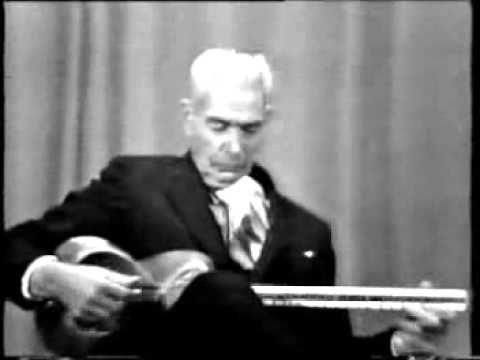 Ali Akbar Shahnazi (1897 -- March 1985) was an Iranian musician and master of the tar. A very great master of tar (Persian six-stringed long-necked lute)