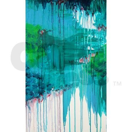 Blue Monsoon rug Yoga Mat