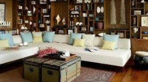 Beautiful Tropical Living Room in Koh Samui