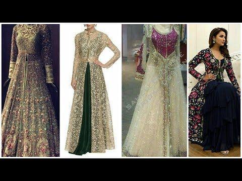 91919d27afd7 ... Dresses For Girls   Women. embroidered net shrug design ideas for  Lehenga