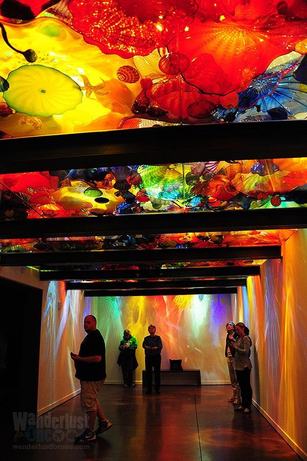 Chihuly Garden and Glass, Seattle #travel #seattle #visitsea