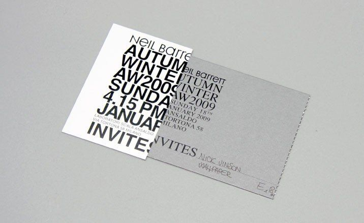 Fashion show invites | Fashion | Wallpaper* Magazine: design, interiors, architecture, fashion, art