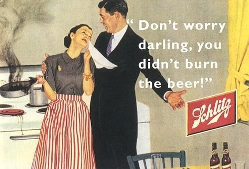 50s humor: Beer, Funny, Advertising, Worry Darling, Don'T Worry, Don T Worry, Didn T Burn, Vintage Ads