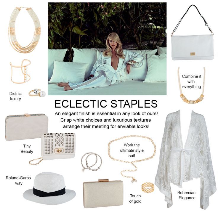 In our latest facebook editorial post we gathered our favortie eclectic basics that can make your looks amazing! Check it out and get them up to 50% off!