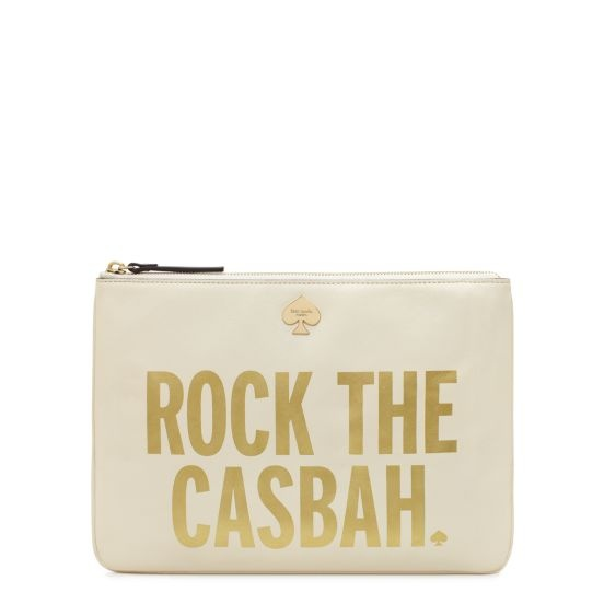 kate spade | rock the casbah georgie. These collections with phrases are my absolute favvvv #katespade4lyfe