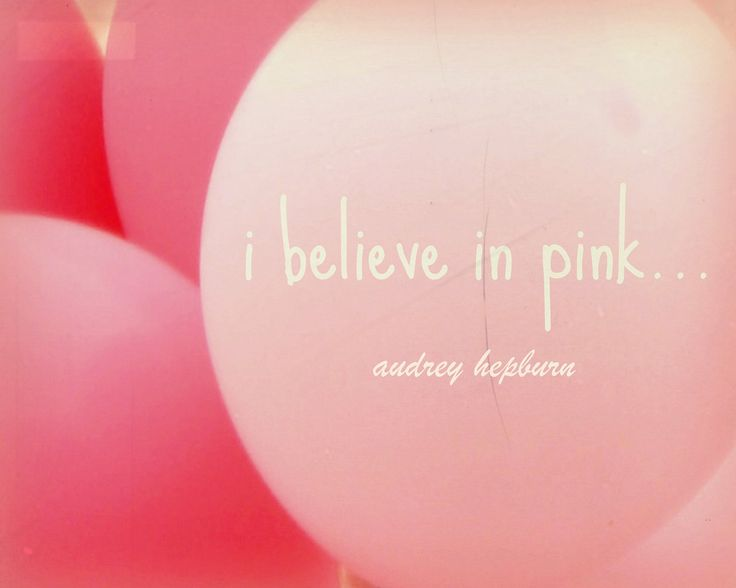 pink quotes | ... that this post is going to be all about the pink things I like