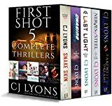First Shot: 5 Complete Thrillers: contains Snake Skin Last Light Farewell to Dreams Nerves of Steel Chasing Shadows by CJ Lyons (Author) #Kindle US #NewRelease #Mystery #Thriller #Suspense #eBook #ad
