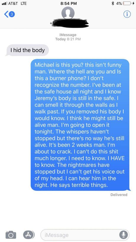 Not sure if this counts. One upping an obvious prank text from a random number. #lol #funny #rofl #memes #lmao #hilarious #cute