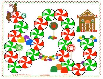 In the spirit of the season, this is a free gingerbread game board.  It is designed to be used with a dice and generic player pieces in order to bring a bit of Christmas festivity to your therapy room while addressing any speech or language goal.Check out www.rebeccaslp.com for the complete game selling on my website soon.  (Gingerbread Race!)Copyright  2012 Rebecca Gnezdova.