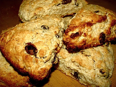 scottish oat scones - the accompanying story is charming and so is ...