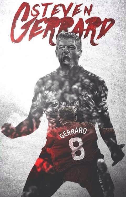 Steven Gerrard Liverpool legend