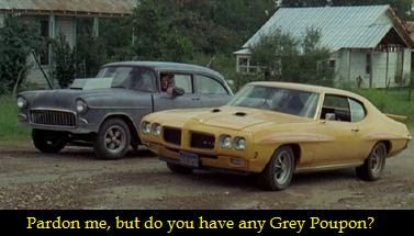 ... . Warren Oates drove that against James Taylor and Dennis Wilson
