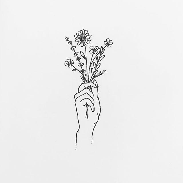 Drawing Flowers \u0026 Mandala in Ink