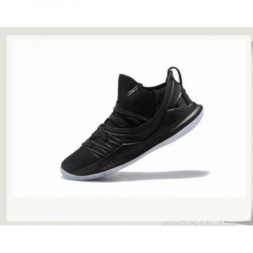97a64d05f270 Under Armour Curry 5 Low W-3020657-001 Blk Wht S.Red Basketball shoes