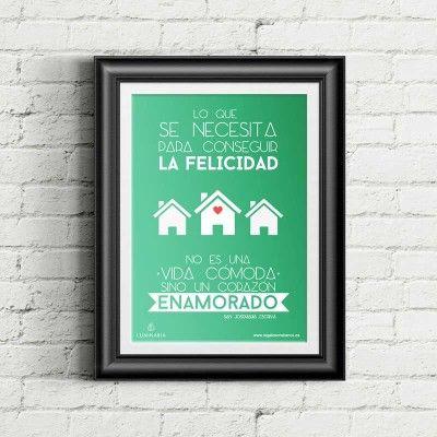 """Cartel """"La Felicidad"""""""