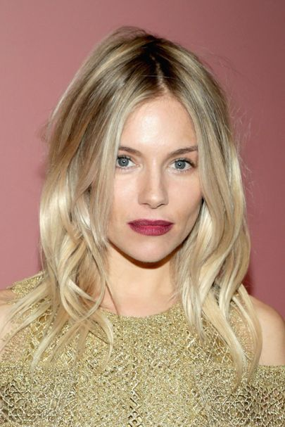 Sienna Miller On Relocating To New York | British Vogue Couleur de cheveux blonde