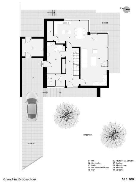 16 besten Haus Grundriss Bilder auf Pinterest Fußböden - wohnwintergarten wintersonne verglasung