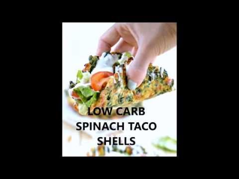 Soft Taco Recipe with Spinach |Low carb Taco Shells - Sweetashoney