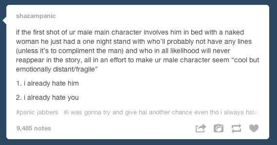 Because someone needs to call out these tropes. | 27 Reasons Literary Nerds Will Love Tumblr