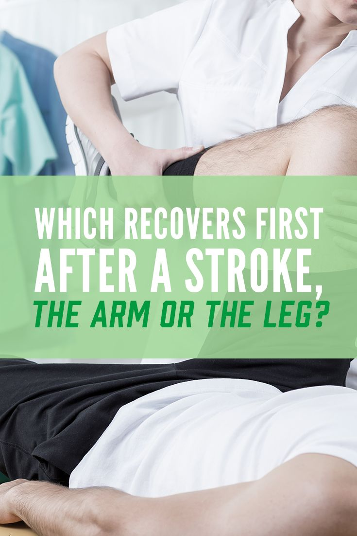 Which comes back first after a stroke, the arm or the leg? OT and PT students may think they know the answer to this question, however it is not so simple.
