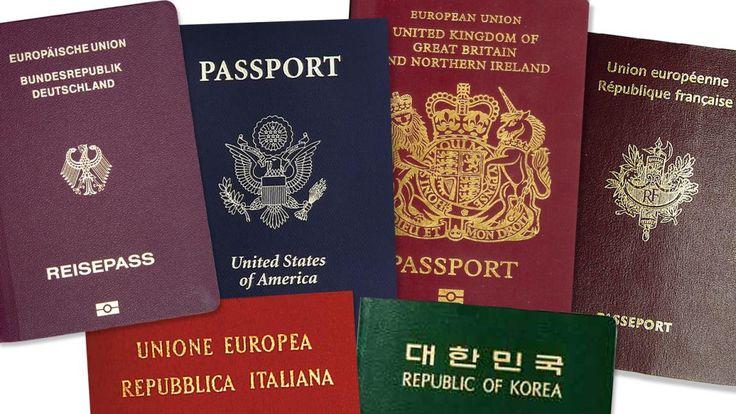 """Visa – die Freiheit nehm' ich dir: Antrag, Foto, Zeit, Geld – wer mit Visum einreisen muss, ist klar im Nachteil. Das """"Passport Power""""-Ranking offenbart die angesehensten Reisedokumente der Welt."""
