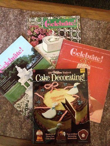 Vintage Wilton Cake decorating books http://www ...