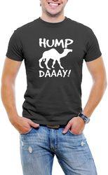 Hump Day Camel Men T-Shirt Soft Cotton Short Sleeve Tee