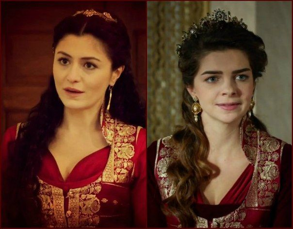 Magnificent Heritage - Red dress and yelek (ok, this heritage can be justified...)
