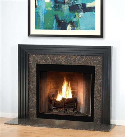 25 best ideas about contemporary fireplace mantels on for Contemporary wood fireplace