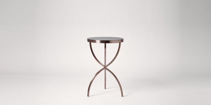 Swoon Editions Side table, contemporary style in Rose Gold - £199