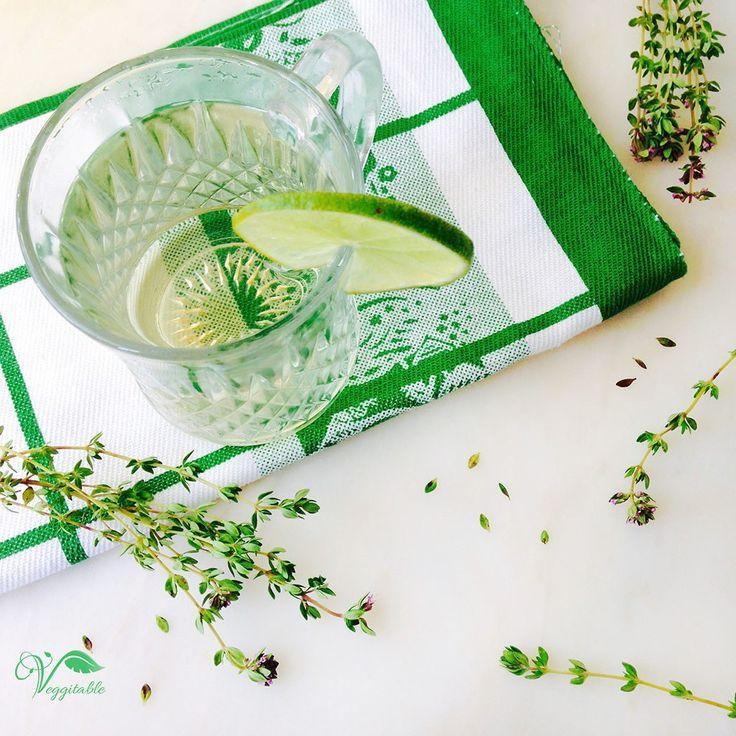 Chá Tomilho-Limão com Lima – Veggitable