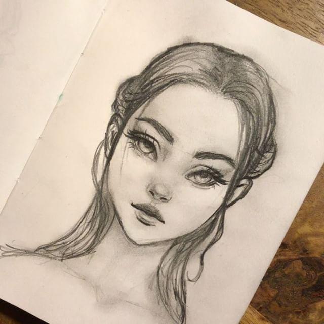 Рисунки лайкеров из лайк простым карандашом