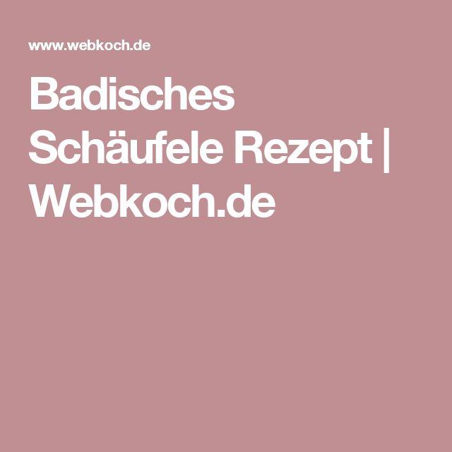 Badisches Schäufele Rezept   Webkoch.de