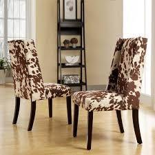 Www.decohides.com Faux Cowhide Chairs   $260/pair