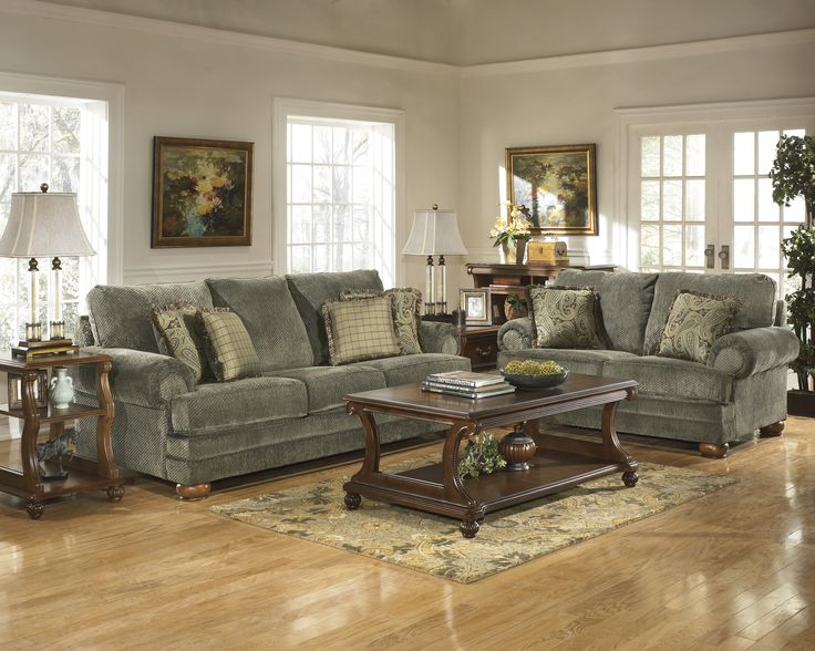 Ashley Furniture Parcal Estates Basil Living Room Collection: Sofa ...