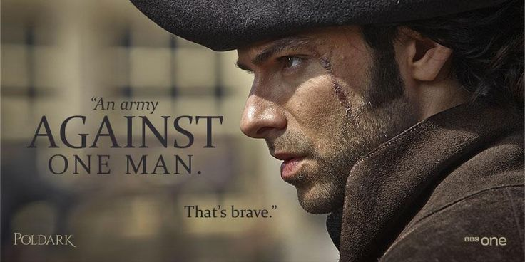 Underestimate this man at your peril. #Poldark