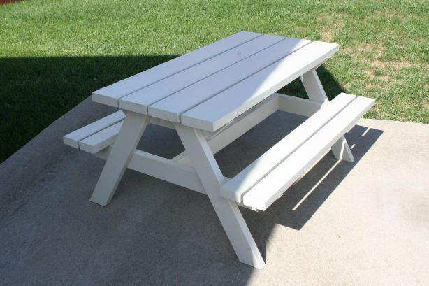 plans for kids wooden picnic table