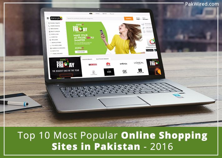 Top 10 Most Popular Online Shopping Sites in Pakistan – 2016