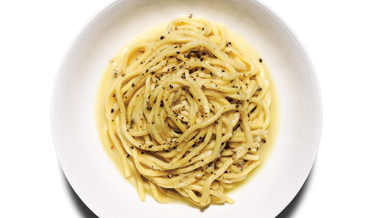 "Literally ""cheese and pepper"", this minimalist pasta is like a stripped-down mac and cheese."