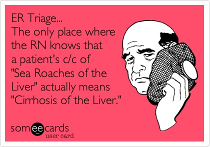 ER nurses rock ! LOL. I can't stop laughing.