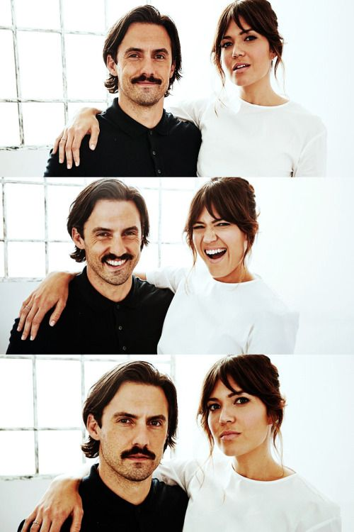 This Is Us. Mandy Moore and Milo Ventimiglia