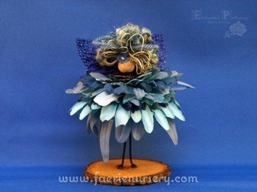 The Northern Faeries - Agua (made to order) | FaerieNursery - Dolls & Miniatures on ArtFire
