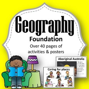 Contained in this pack is EVERYTHING you need to teach Foundation Year Geography to meet the Australian Curriculum Standards (ACARA) such as:What are places like?What makes a place special?How can we look after the places we live in?In this pack you will find over 40 pages of activities, sheets and posters to work through the geography concepts of place and mapping.