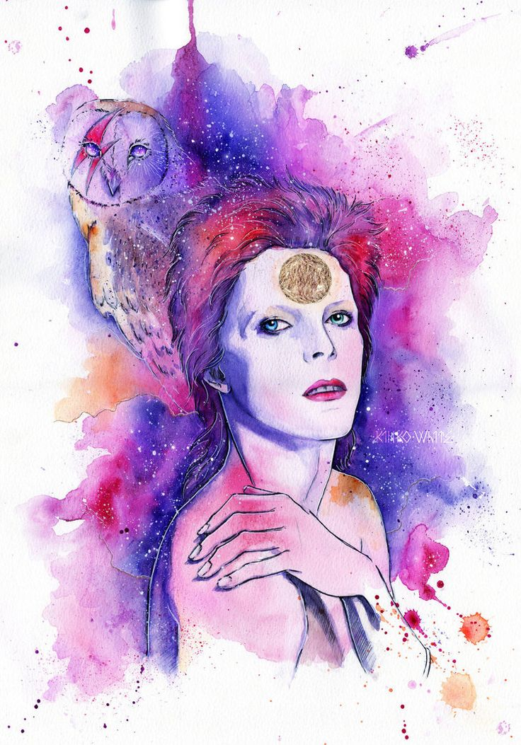 David Bowie by Kyrie0201 on DeviantArt                                                                                                                                                                                 More