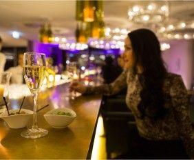 Evening look - Falkensteiner Hotel Wien – Margareten - #bar #hotel #vienna #wien #champagner