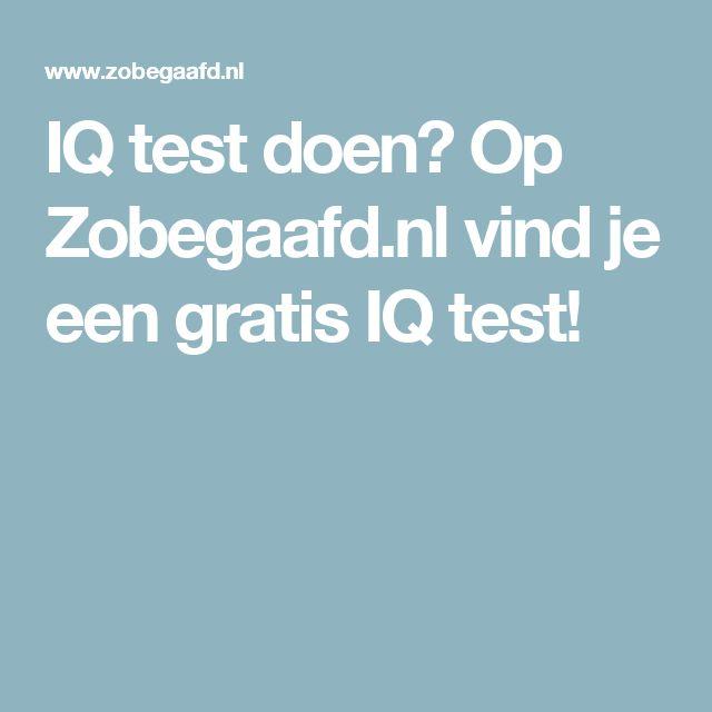 IQ test doen? Op Zobegaafd.nl vind je een gratis IQ test!
