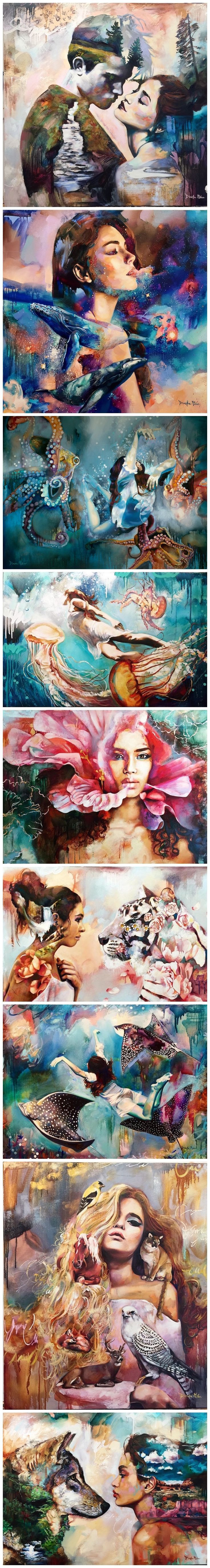 Dimitra Milan, art, painting